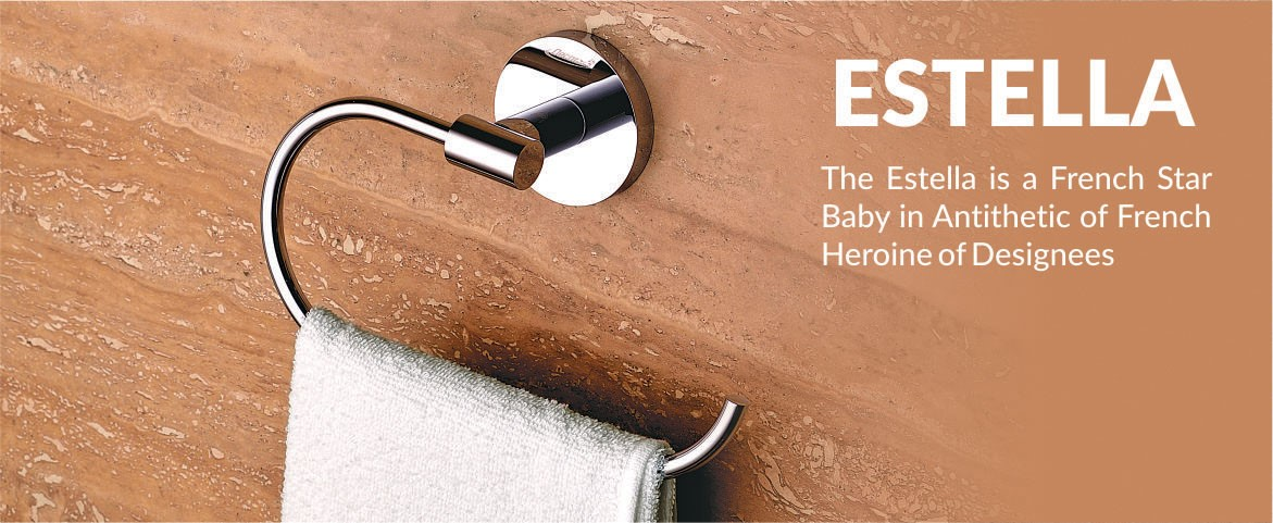 Estella by Decor Brass Bath