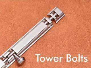 Tower Bolts by Decor Brass Hardware Product